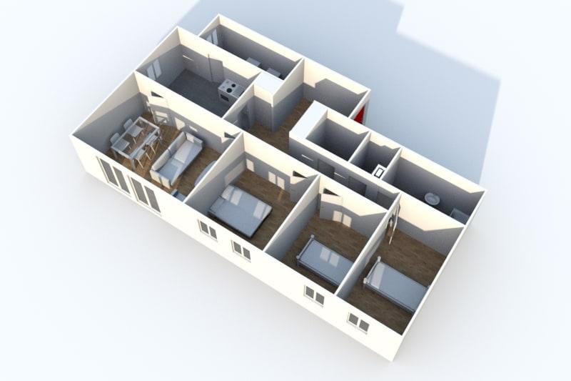 Appartement T4 avec un cadre verdoyant à Cany-Barville - Image 3