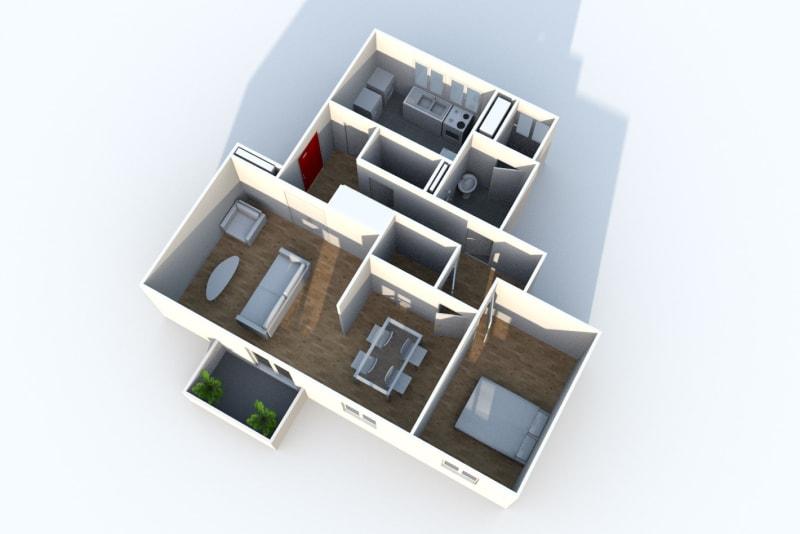 Appartement T3 à louer à Rives en Seine, proche du collège - Image 6