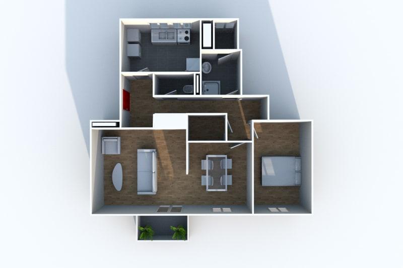 Appartement T3 à louer à Rives en Seine, proche du collège - Image 7
