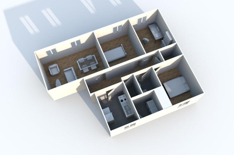 Appartement F4 à louer à Clères au Bas de Beauce - Image 6