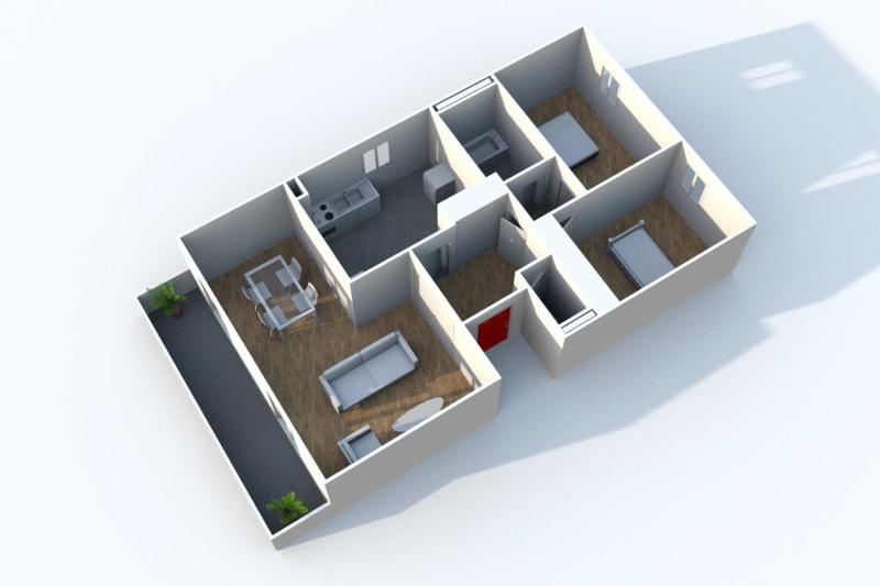 Appartement T3 en location à Déville-lès-Rouen - Image 4
