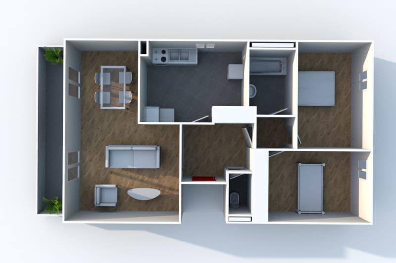 Appartement T3 en location à Déville-lès-Rouen - Image 5
