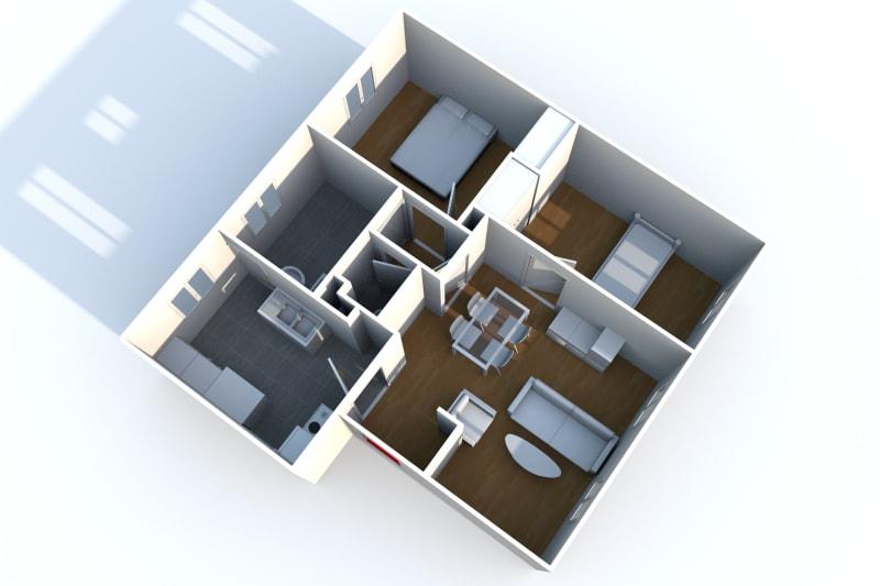 Location appartement F3 à Elbeuf - Image 5