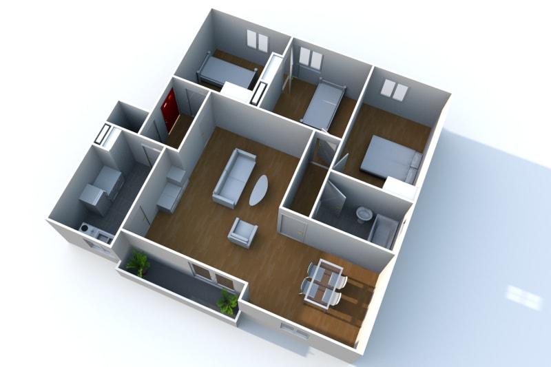 Appartement de 3 chambres refait à neuf. Plein centre d'Elbeuf : à deux pas des commerces - Image 8