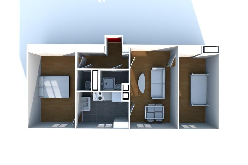 Appartement T3 à louer à Fécamp proche du centre aquatique - Image 7