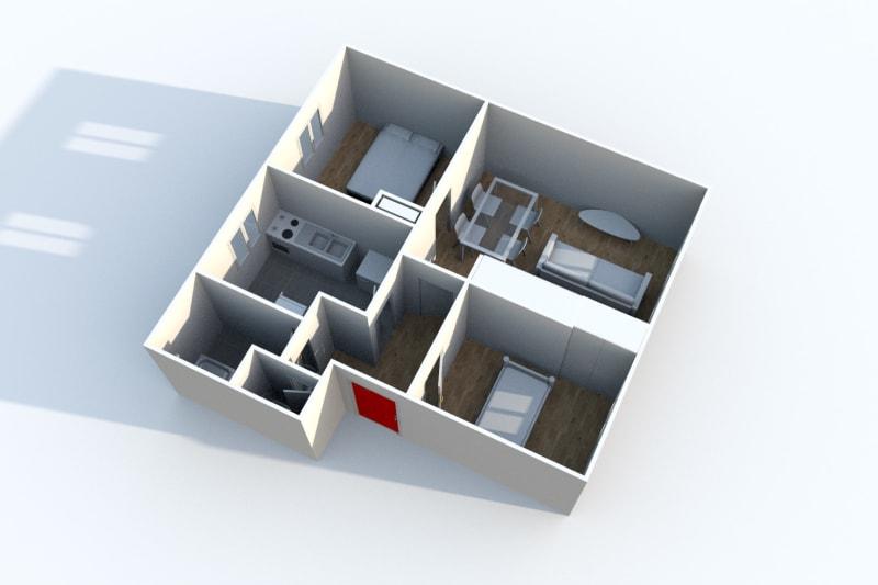 Appartement T3 à louer à Gonfreville l'Orcher - Image 3
