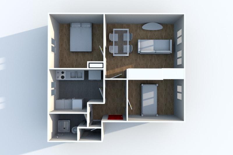 Appartement T3 à louer à Gonfreville l'Orcher - Image 4