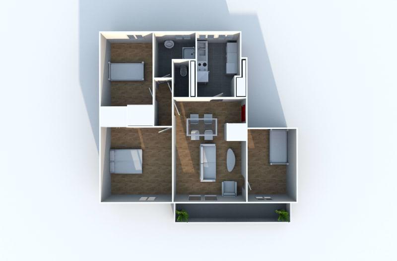 Appartement F4 à louer proche du centre-ville à Grand-Couronne - Image 10