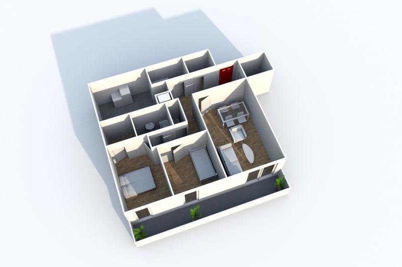 Appartement T3 en location à Grand-Couronne - Image 3
