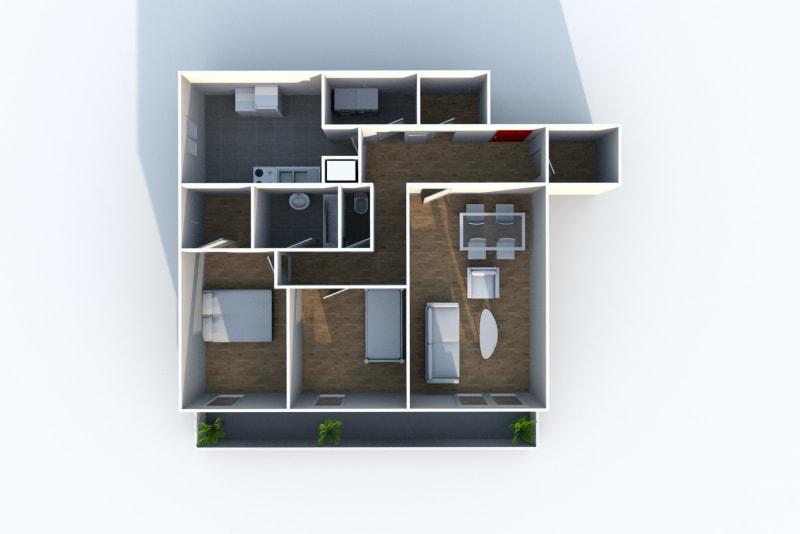 Appartement T3 en location à Grand-Couronne - Image 4