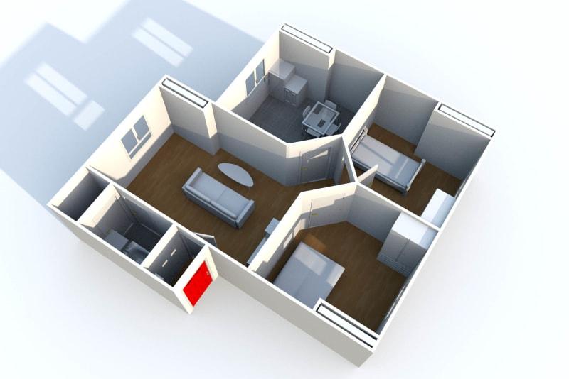 Location appartement F3 Le Havre proche du stade Océane - Image 4