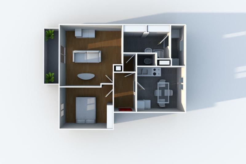 Appartement F2 au Havre proche de la clinique des Ormeaux - Image 4