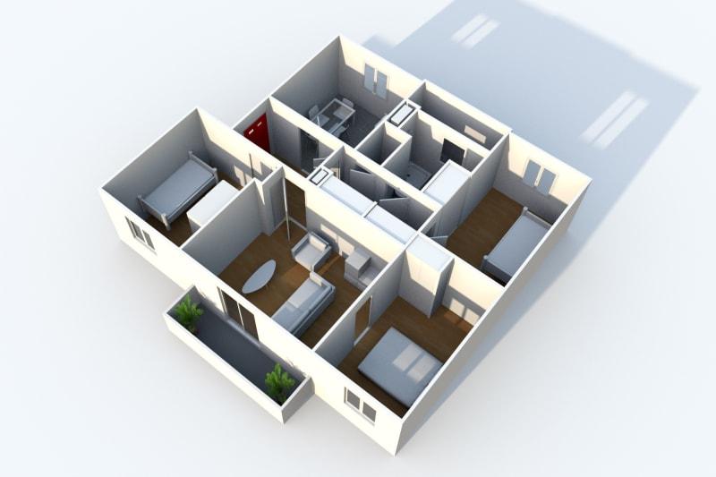 Location appartement F4 à proximité de la clinique des Ormeaux au Havre - Image 4
