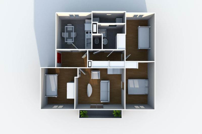 Location appartement F4 à proximité de la clinique des Ormeaux au Havre - Image 5