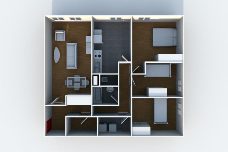 Appartement F4 situé au Havre sur les hauts de Bleville - Image 5