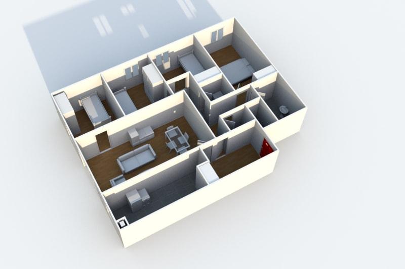 Location appartement F5 au Havre à proximité du complexe sportif du Mont Gaillard - Image 5