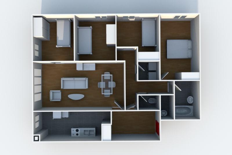 Location appartement F5 au Havre à proximité du complexe sportif du Mont Gaillard - Image 6