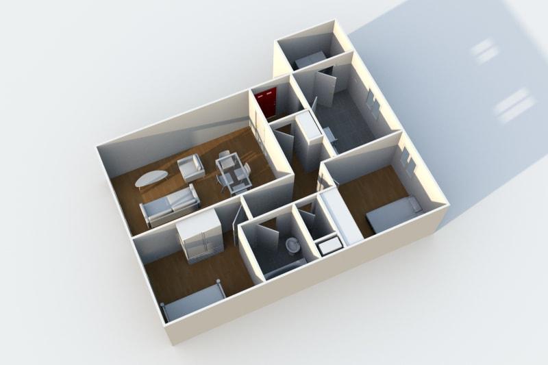 Location appartement F3 au Havre dans le quartier de Caucriauville - Image 5