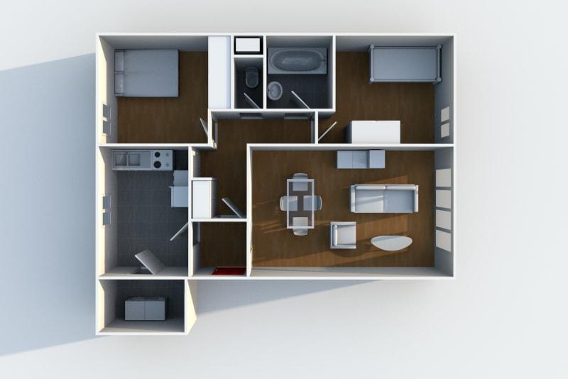 Location appartement F3 au Havre dans le quartier de Caucriauville - Image 6