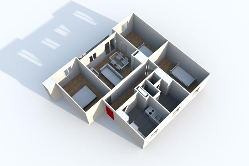 Appartement T4 en location au Houlme - Image 8