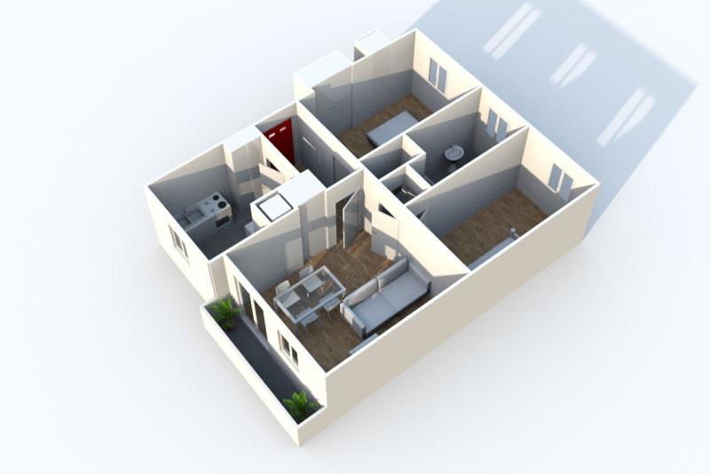 Appartement T3 en location au Houlme - Image 3