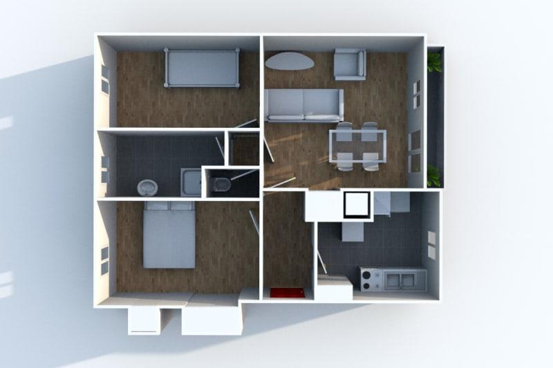 Appartement T3 en location au Houlme - Image 4