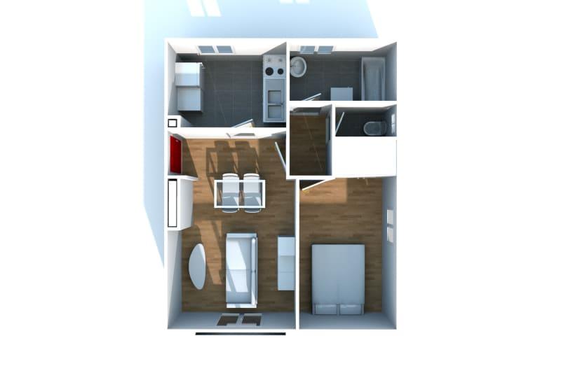 Appartement T2 en location à Lillebonne - Image 4
