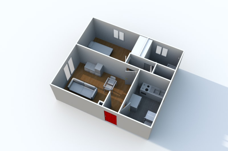 Appartement F2 en location à Arelaune en Seine - Image 7