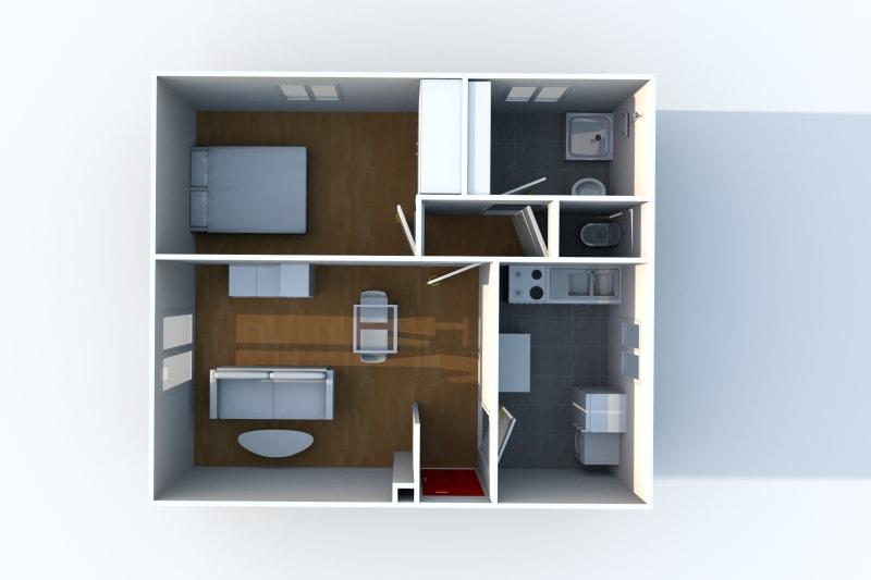 Appartement F2 en location à Arelaune en Seine - Image 8