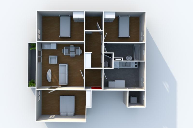 Location appartement T4 à Arelaune en Seine - Image 6
