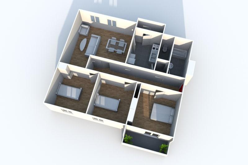 Appartement F4 à louer à Maromme - Image 7