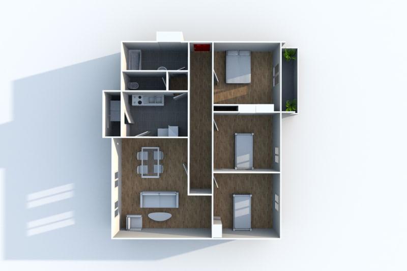 Appartement F4 à louer à Maromme - Image 8