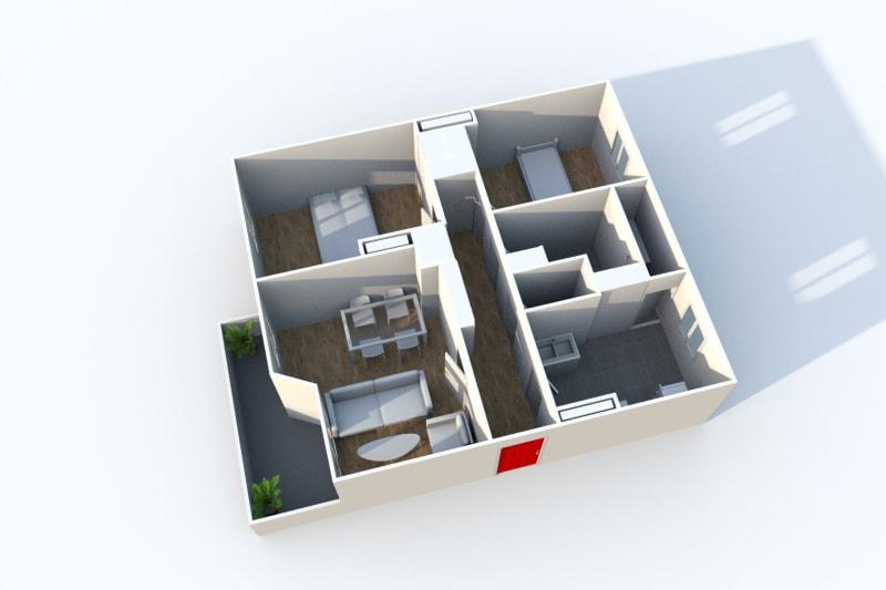 Appartement T3 à louer à Maromme, proche du stade - Image 3