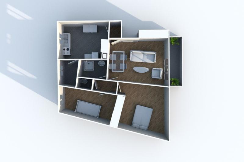 Appartement T3 à louer à Maromme, proche centre-ville - Image 7