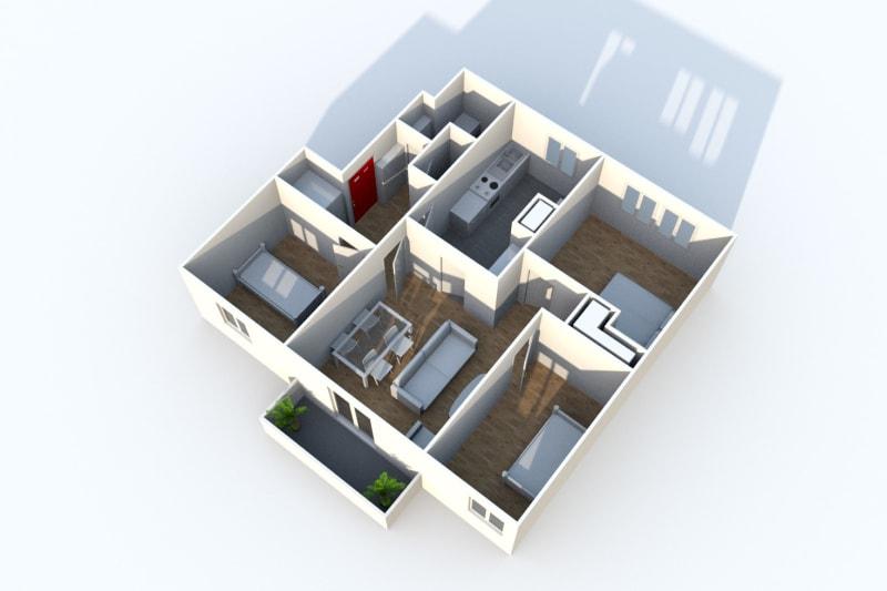 Appartement dans un cadre verdoyant à Montivilliers - Image 3