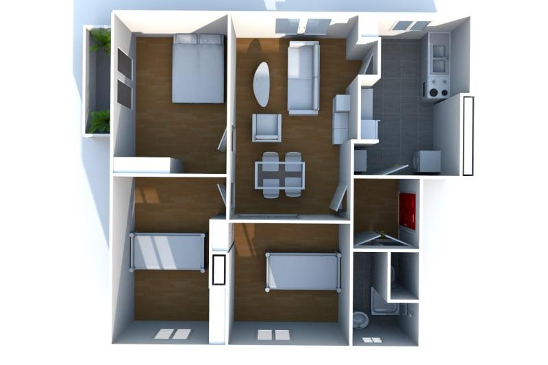 Appartement T4 en location à Saint-Valéry-en-Caux, vue sur les côtes - Image 7