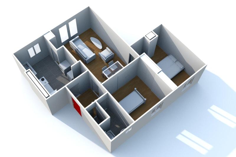 Appartement T3 à louer à Saint-Valéry-en-Caux, vue sur les côtes - Image 6