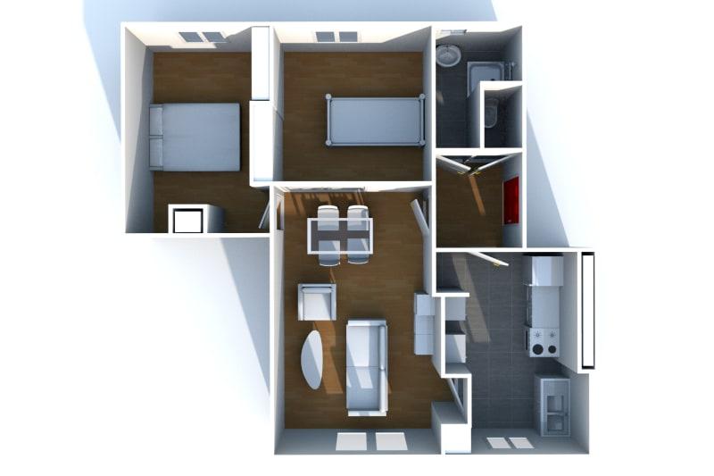 Appartement T3 à louer à Saint-Valéry-en-Caux, vue sur les côtes - Image 7
