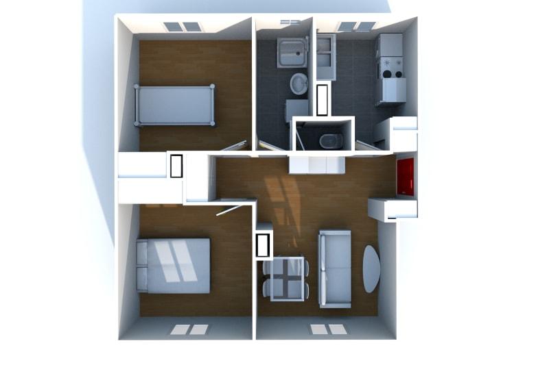 Appartement T3 à louer à Saint-Valéry-en-Caux avec vue sur port - Image 5