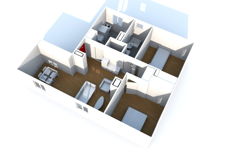 Appartement T4 à louer à Saint-Valéry-en-Caux avec vue sur port - Image 3