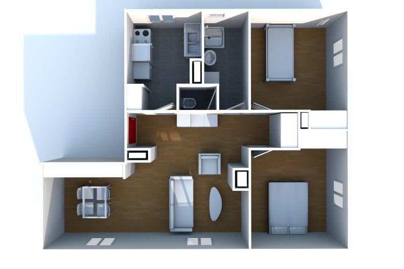 Appartement T4 à louer à Saint-Valéry-en-Caux avec vue sur port - Image 4