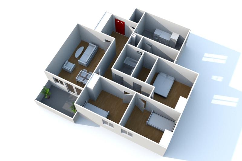 Appartement T4 à louer à Saint-Valéry-en-Caux - Image 3
