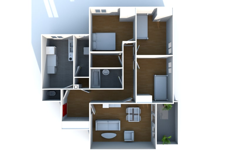 Appartement T4 à louer à Saint-Valéry-en-Caux - Image 4