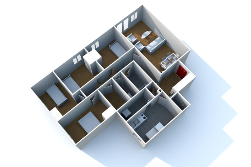 Appartement T5 à louer à Saint-Valéry-en-Caux - Image 3