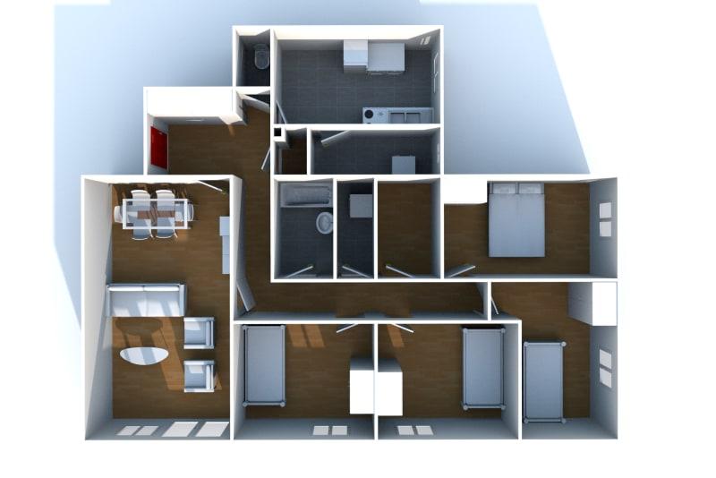 Appartement T5 à louer à Saint-Valéry-en-Caux - Image 4