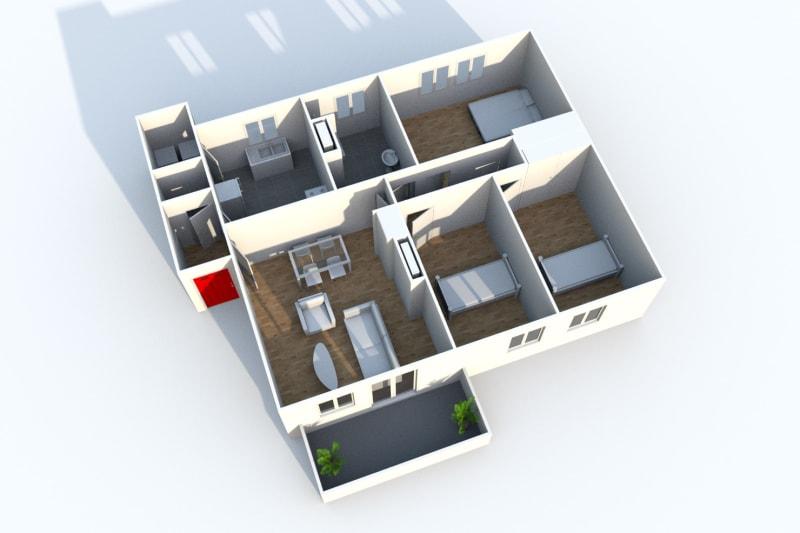 Appartement F4 à louer à Sotteville-lès-Rouen - Image 4