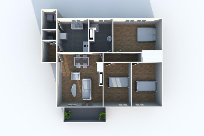 Appartement F4 à louer à Sotteville-lès-Rouen - Image 5