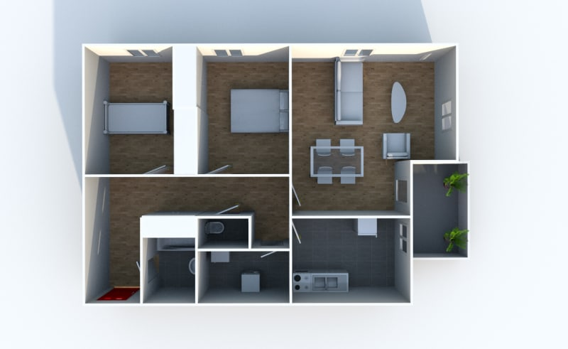Appartement T3 dans une résidence proche du parc du Madrillet à Sotteville-lès-Rouen - Image 6