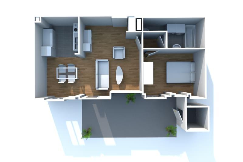 Appartement lumineux de charme à Grand-Couronne avec jardin privatif - Image 7