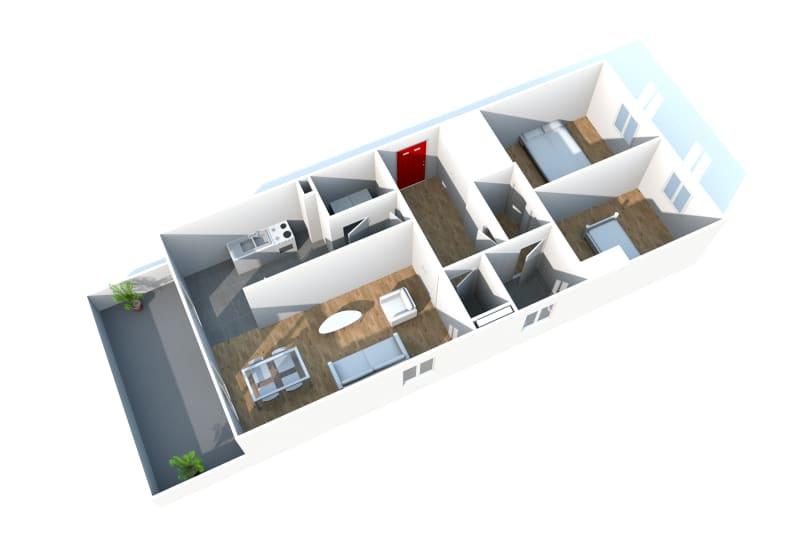 Gonfreville l'orcher, 3 pièces dans résidence récente - Image 3
